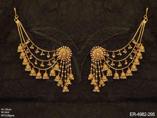 Antique Earrings | Antique Jewellery Sets | Antique Jewellery Online | Antique Earrings Jewellery | Manek Ratna