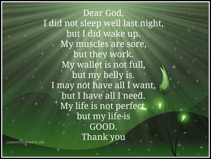 #LifeIsGood #prayer #quote