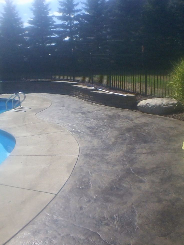 27 best images about rochester ny stamped concrete on for Pool design rochester ny