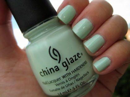 Re-fresh Mint, China Glaze.