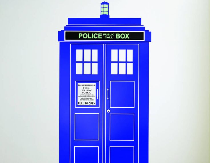 British Policebox Wall Sticker   View All Sale Items Part 58