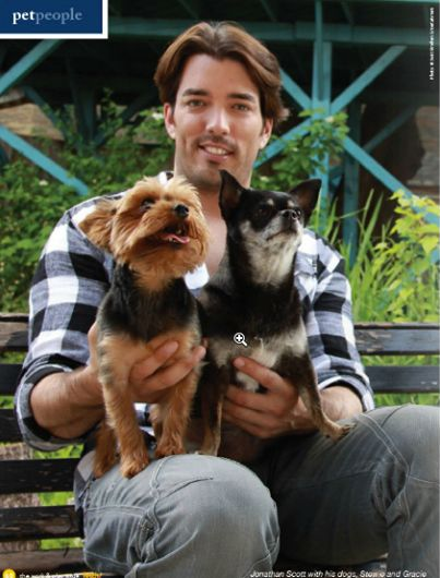 Property Brothers Johnathan Silver Scott Article In Fetch! Mag