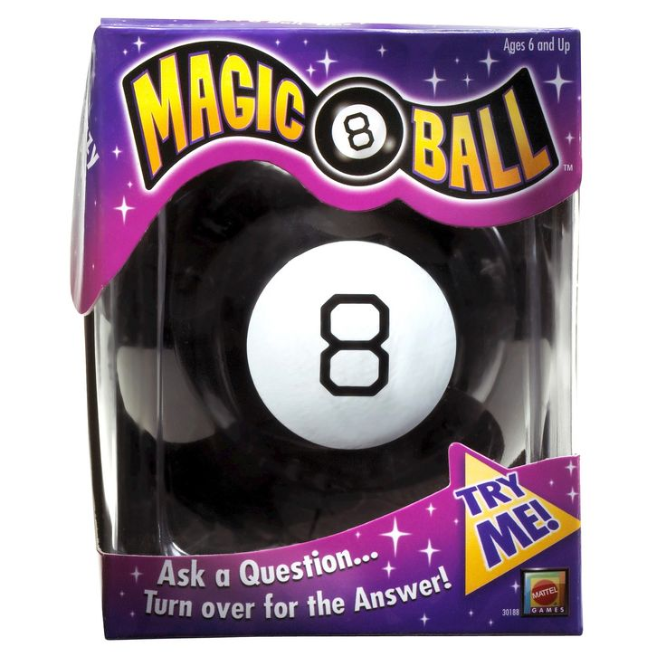 Magic 8 Ball Toy, Board Games