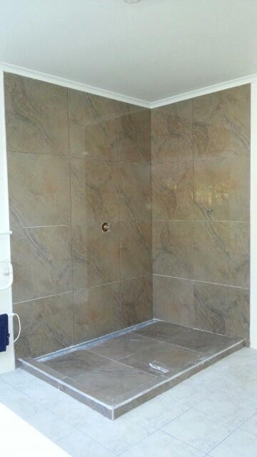 Tiling completed.  20 May 2013