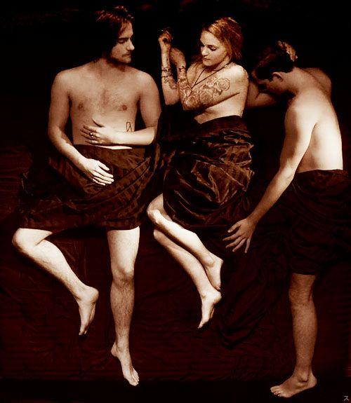 Peter, Miranda & Roman