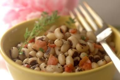 Bowl of hoppin' john - Smneedham/Photolibrary/Getty Images  Black eye peas for the New Year!