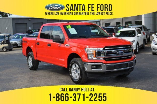 2018 Race Red Ford F 150 Xlt 4 Door Truck Automatic 4x4 Ford F150 Used Ford F150 Ford F150 Xlt