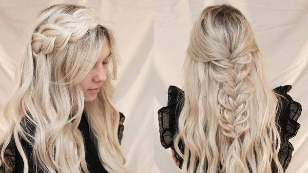 How To Style Halo Extensions In Less Than 5 Minutes Luxy Hair Hairstyles Trend 2020 In 2020 Hair Styles Halo Extensions Halo Hair Extensions