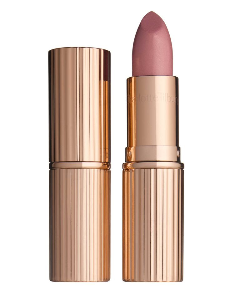 "This lipstick's name is ""Bitch Perfect"" - how can I not?  Can't wait until this line comes into the states - Charlotte Tilbury K.I.S.S.I.N.G Bitch Perfect Lipstick"
