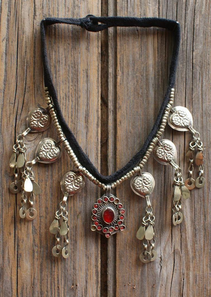 Karma East - Vintage Tribal Necklace 12