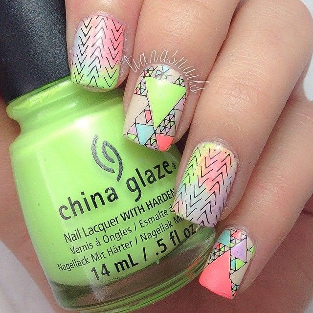1149 best mani ideas images on Pinterest   Cute nails, Nail design ...