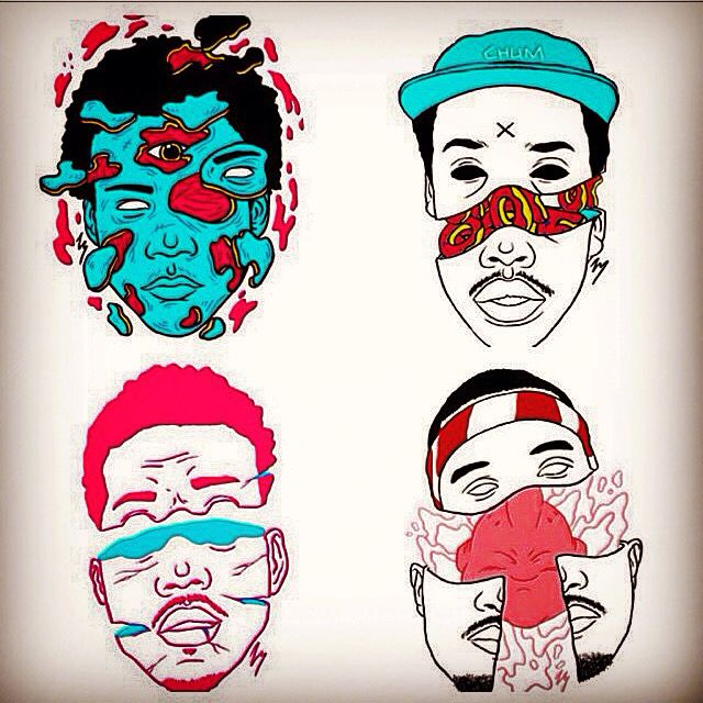 frank ocean earl chance the rapper and childish