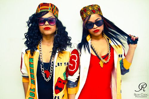 Paying homage to Salt N Pepa!! Best female rap group ever!!, Tap photo to learn…