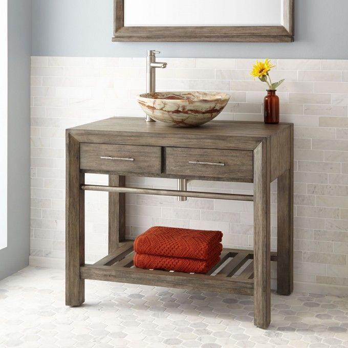 1000 ideas about vessel sink vanity on pinterest tub - Reasonably priced bathroom vanities ...