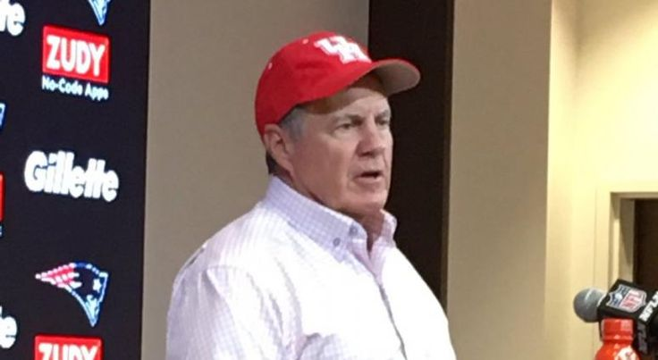Bill Belichick wears University of Houston hat to postgame press conference: 'I want to give a little shout out to Houston' | WEEI