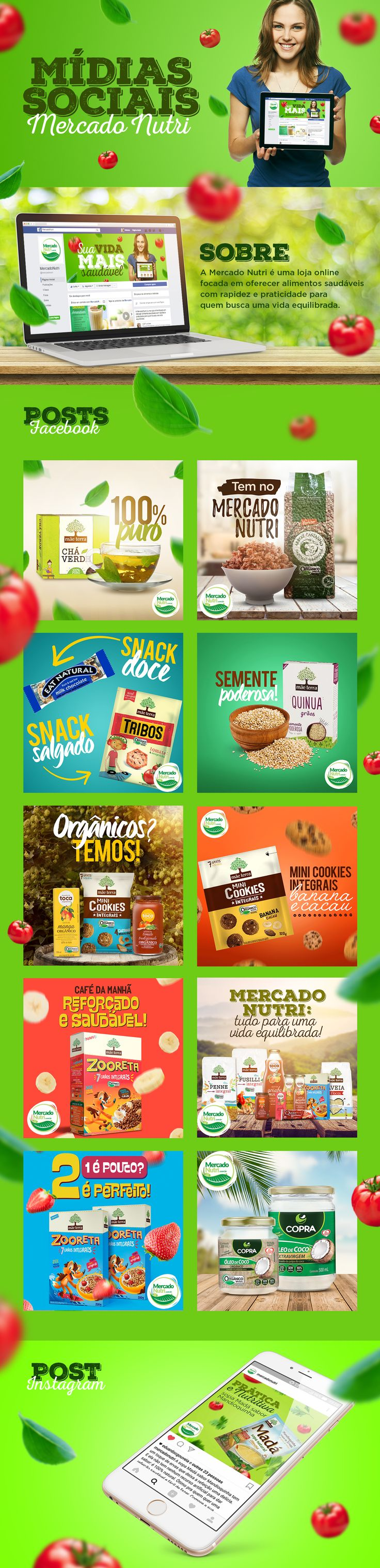 Mercado Nutri │ Mídias Sociais on Behance