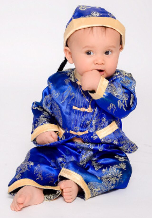 Dress Up Traditional Chinese Outfit Baby Boy Chinese Clothing Festival Wear First Birthday