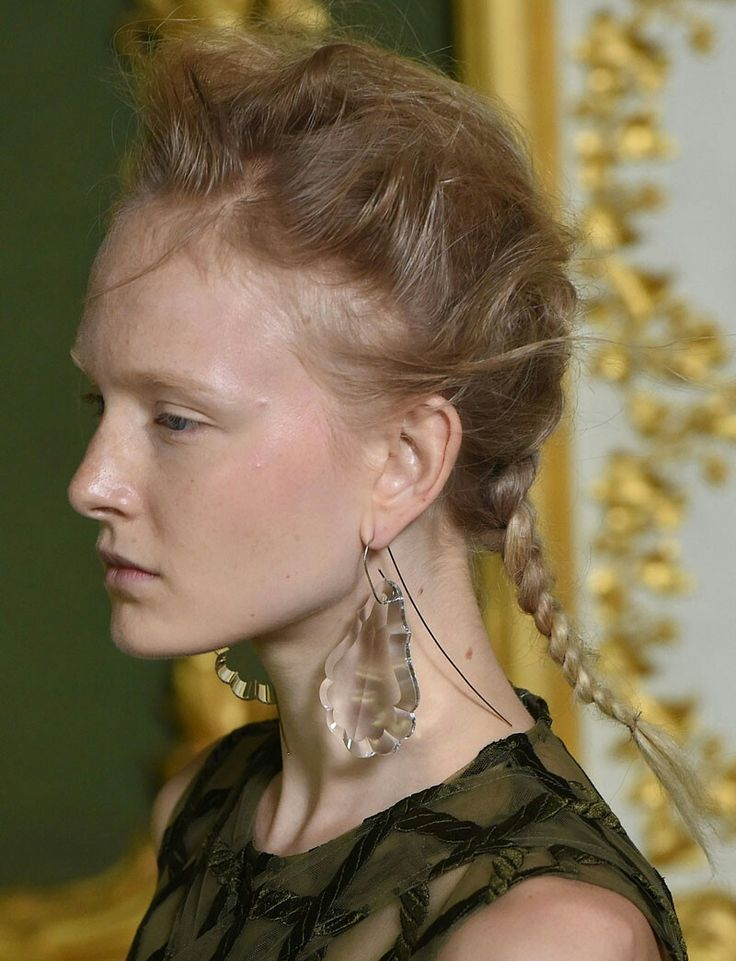 Earrings Simone Roacha spring 16