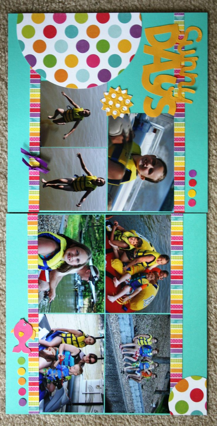 Vietnam scrapbook ideas - Lake Of The Ozarks Sunny Days Scrapbook Com