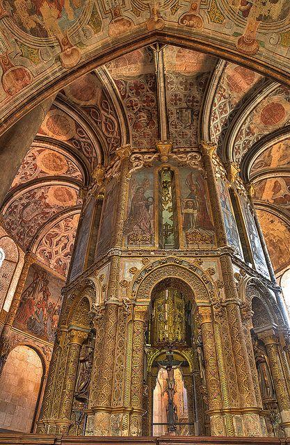 #Church Charola, Convento de Cristo-#Tomar #Portugal