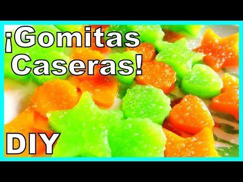 Gomitas cremosas de gelatina | ♥L.C.M ♥ - TvCocina . Recetas Gourmet . Vídeos de Cocina y Más !!