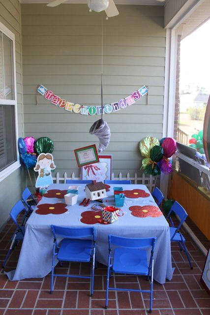 Wizard of Oz Party #wizardofoz #table