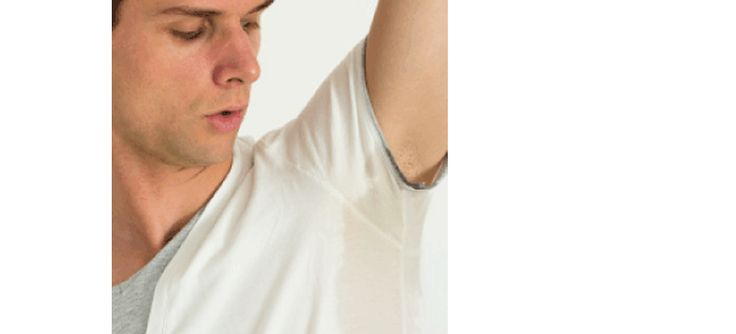 Bromhidrosis excessive sweating strong odor armpit