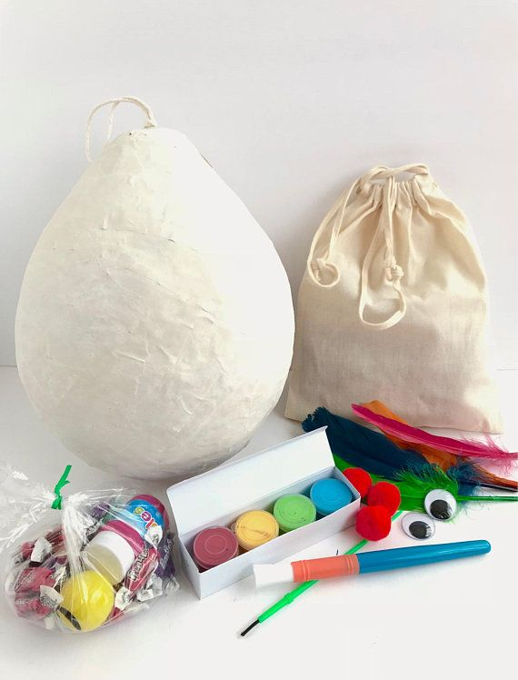 DIY Pinata Make Your Own Craft Kit For Kids Unique Gifts Projects Party Favor Birthday