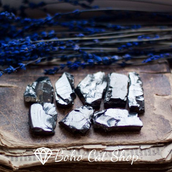 Elite Noble Shungite Crystals BIG FRACTION 100gr/0,22 lb Reiki, Healing, Crystal Grid, Healing Water, Detox, Protection by bohocatshop. Explore more products on http://bohocatshop.etsy.com