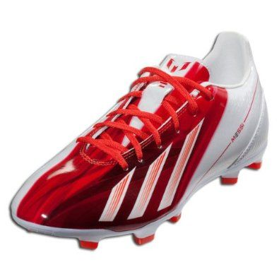 ADIDAS F10 TRX FG - MESSI (RUNNING WHITE/DARK ORANGE/BLACK (MESSI) (6.5) adidas. $68.99