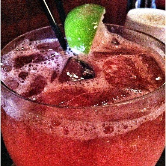 fresh watermelon margarita at hackney's. | Drinks | Pinterest