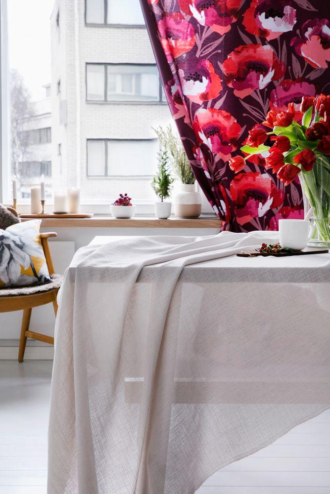 Aino curtain by Vilma Pellinen