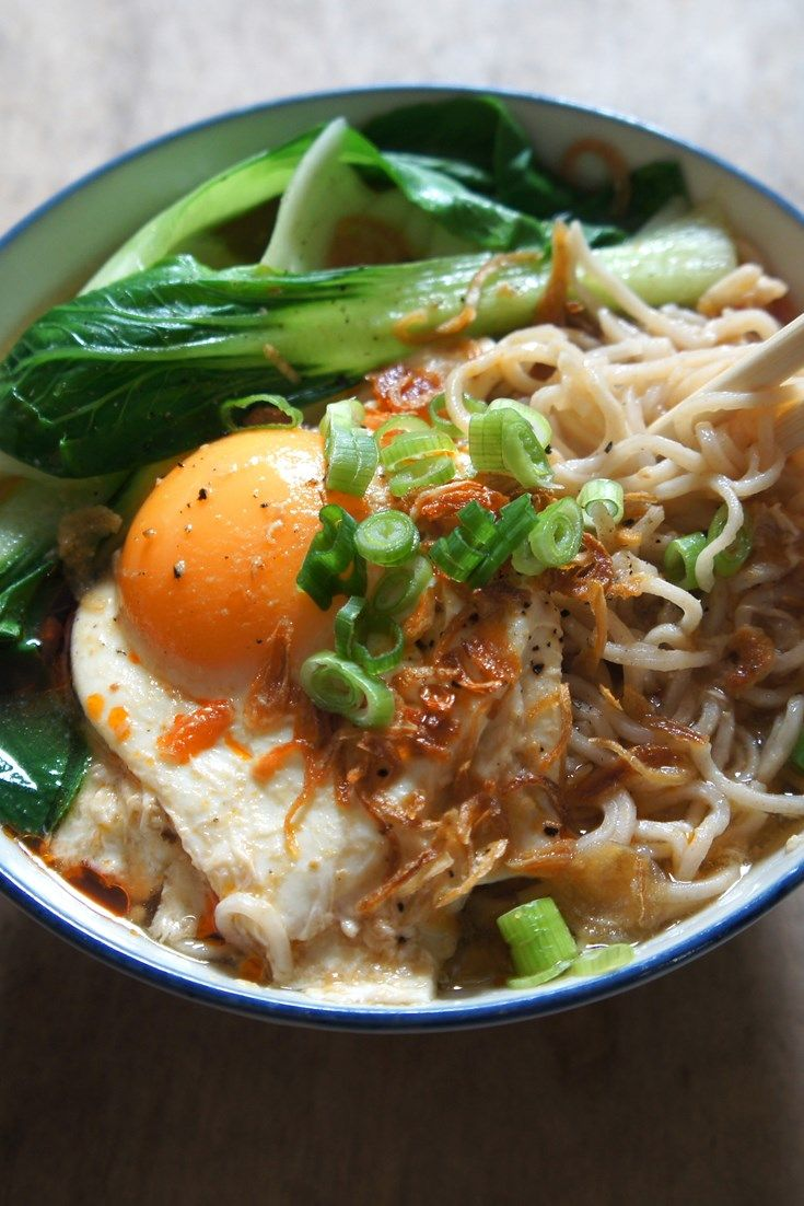 A collection of noodle recipes from Great British Chefs includes Andy Waters' Thai chicken soup and Marcus Wareing's Asian broth