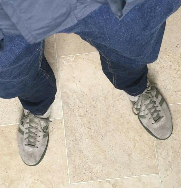 New Adidas Broomfield on feet on the street | New adidas