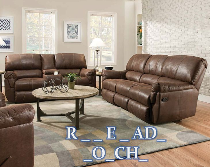 The Renegade Mocha Reclining Sofa And Loveseat Set Is A Beautiful Light  Brown Color, Is Plush For Comfort, And Reclining Chaise Seats For  Relaxation.