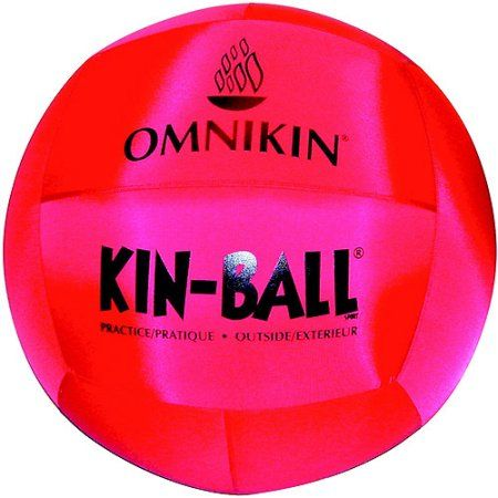 Omnikin Nylon Light-Weight Kin-Ball Sport Ball with Bladder, 48 inch, Multiple Colors, 2 lb, Pink