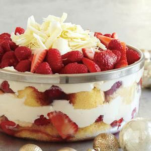 This Merry Berry Trifle recipe is great if you're in a hurry.