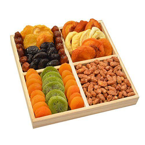 Broadway Basketeers Premium Dried Fruit Assortment Gift T…