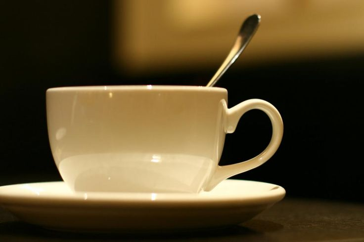 Se hva en kaffekopp kan gjøre :)