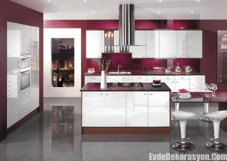 moda mutfak dekorasyon modelleri 2016