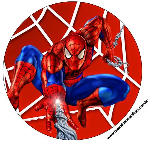 Spiderman Free Printable Candy Bar Labels.