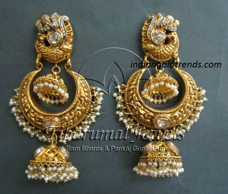 jhumka bali earrings - Google Search