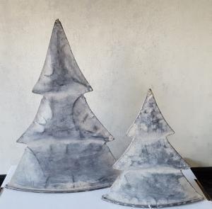 Zinken kerstboom groot 24 cm - 8716684081823 - Avantius