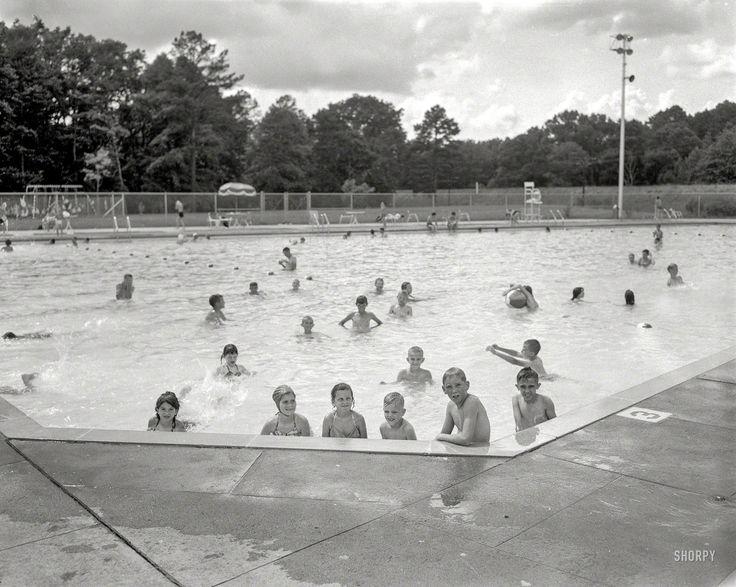 Public Pool Columbus Georgia Circa 1960 Municipal