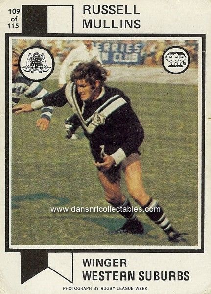 1974 109 Wests Magpies