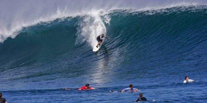 Surf Challenge at G-Land.. :D :D