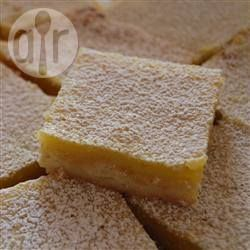 Tart Lemon Bars @ allrecipes.com.au
