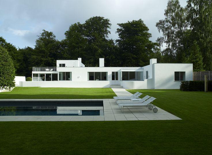 House Near Copenhagen Denmark Architect Arne Jacobsen Photo Richard Powers Architectural