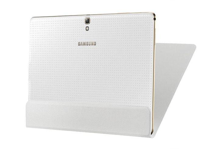 Samsung Galaxy Tab s 10.5 Slim Cover (Carrying Case) White EF-DT800BWEGWW