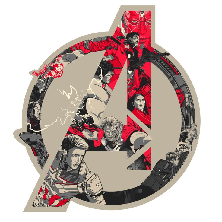 Avengers: Age Of Ultron Official Art Poster print set on Behance